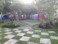 Green Coral Beach Camping Ground Tanjung Lesung di Pandeglang/Tanjung Lesung