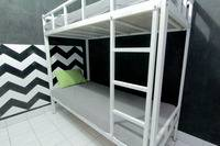 Hostel Backpacker 44 Yogyakarta - Bunk Bed Male Private Bathroom Basic Deal 40%