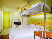 ibis budget Cikini Jakarta - Kamar, beberapa tempat tidur Regular Plan