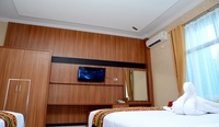 Hotel Radin Inten Syariah Bandar Lampung - Deluxe Twin Room Regular Plan