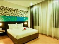 Evo Hotel Pekanbaru Pekanbaru - Deluxe Double Room Only Regular Plan