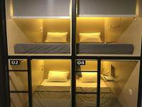 InnBox Capsule Hotel Jember - Single Bed Male Dorm (Khusus Pria) Regular Plan