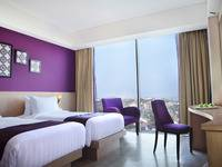 Grand Edge Hotel Semarang - Deluxe Room Twin Beds - Room Only  Regular Plan