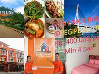 Batam Backpacker Guest House Batam - Tour Package 2D1N All In Batam Regular Plan